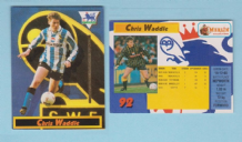 Sheffield Wednesday Chris Waddle England 92